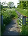 SK6513 : Gaddesby Lane Rearsby by Alan Murray-Rust