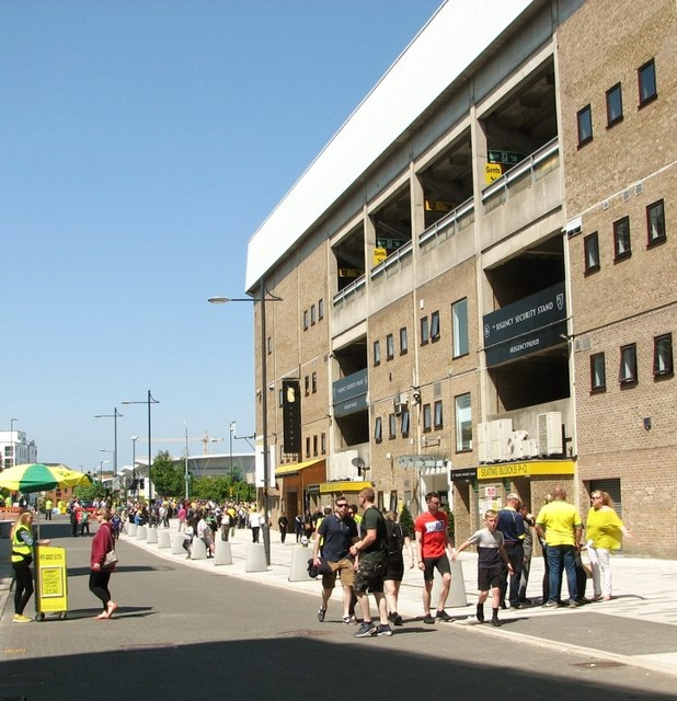 Match day at Carrow Road