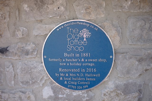 Unofficial blue plaque