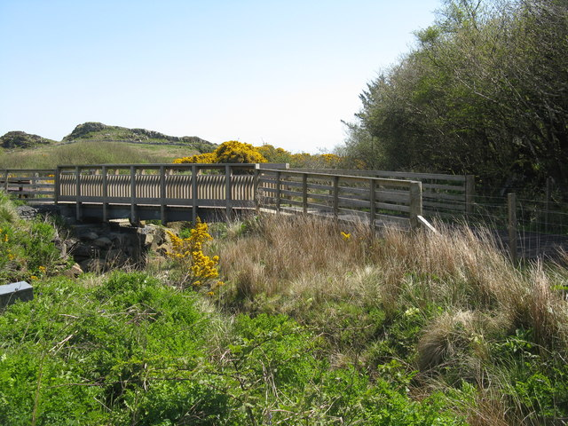 Footpath over the Surnaig River