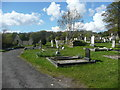 G9277 : The abbey graveyard from the eastern entrance, Donegal by Humphrey Bolton