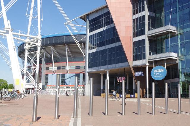 Stadium Plaza, Cardiff