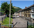 ST2191 : Row of houses, Tredegar Terrace, Crosskeys by Jaggery