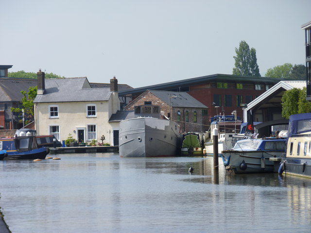 Lock Cottage at Diglis Basin, Worcester