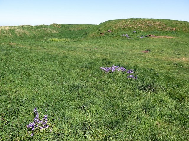 King's Mount, Eyemouth Fort (remains)