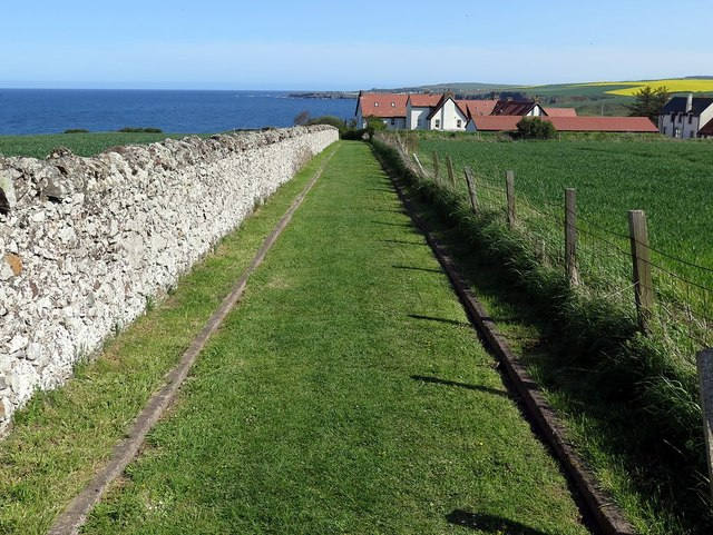 Track north of St Abb's Haven