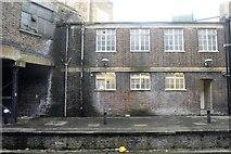TQ3266 : De-graffitied building, West Croydon Station by N Chadwick