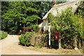 SS5312 : Listed cottage near Merton Mill by Derek Harper