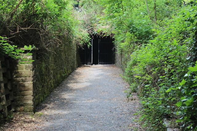 Entrance to Tramway tunnel, Pontypool