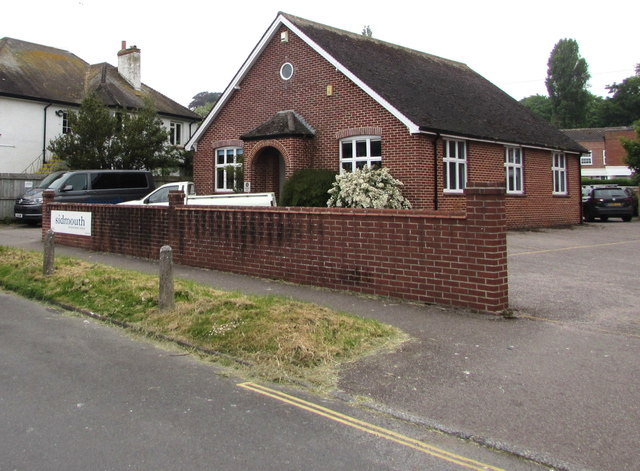 Sidmouth International School building, Connaught Road, Sidmouth