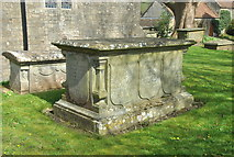 ST7581 : 18th Century Tomb, St John the Baptist Churchyard, Old Sodbury, Gloucestershire 2017 by Ray Bird
