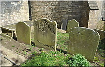 ST7581 : Old Headstones, St John the Baptist Churchyard, Old Sodbury, Gloucestershire 2017 by Ray Bird