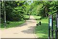 SO2900 : Path into Pontypool Park, Pontymoile by M J Roscoe