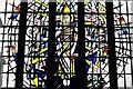 SJ5658 : Bunbury, St. Boniface's Church: Stained glass window 2 by Michael Garlick