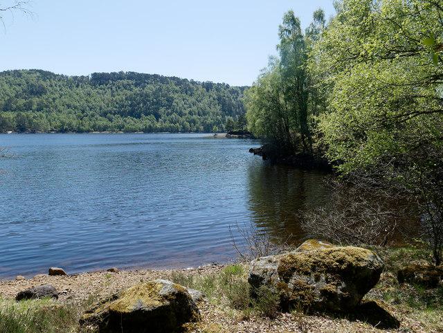 Shoreline of Loch Beinn a' Mheadhoin