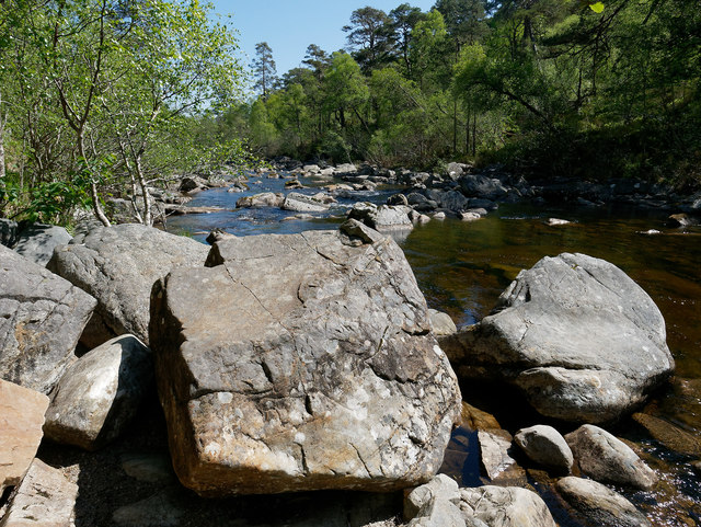 River Affric above Dog Falls