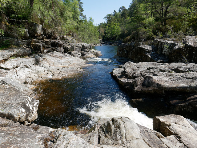 River Affric above the Dog Falls
