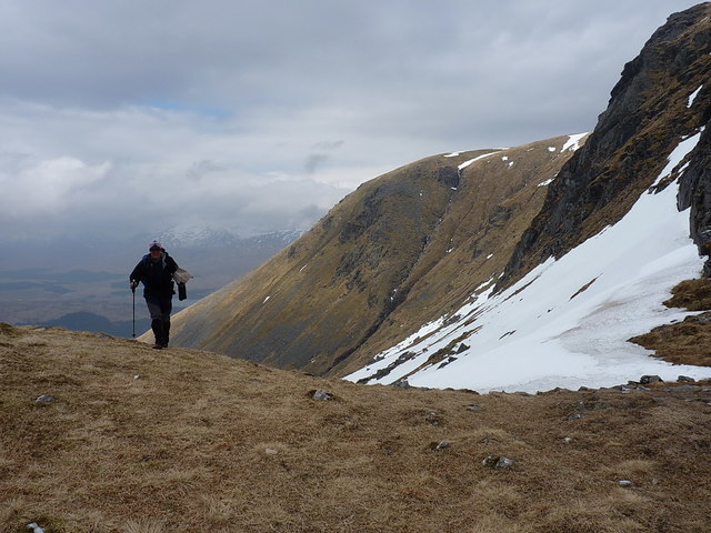 More or less at the bealach