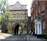 TG2308 : St Ethelbert's Gate by Evelyn Simak