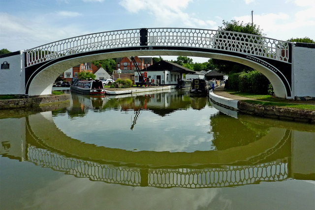 Braunston Wharf in Northamptonshire