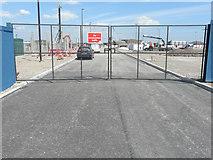 TQ7769 : Construction site, Gillingham Gate Road by John Baker
