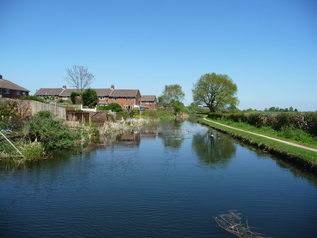 Canal forming the eastern boundary of Brownhills