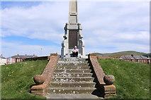 NX1897 : War Memorial, Girvan by Billy McCrorie