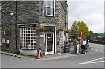 NY3204 : Maple Tree Cafe, Elterwater by Robert Struthers