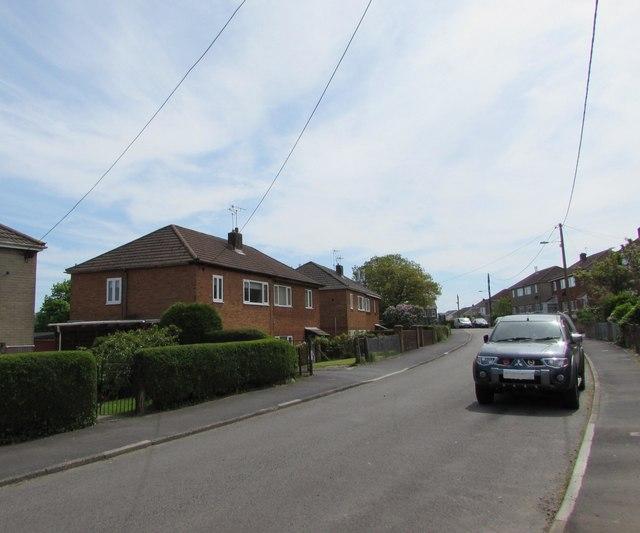 Wires over Coronation Road, Blackwood