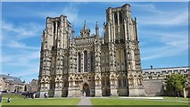 ST5545 : Wells Cathedral by Anthony Parkes