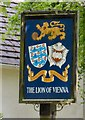 SD6909 : Sign of the Lion of Vienna by Gerald England