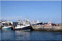 NK0066 : Trawlers at Fraserburgh harbour by Bill Harrison