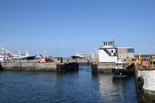 Harbour control tower, Fraserburgh