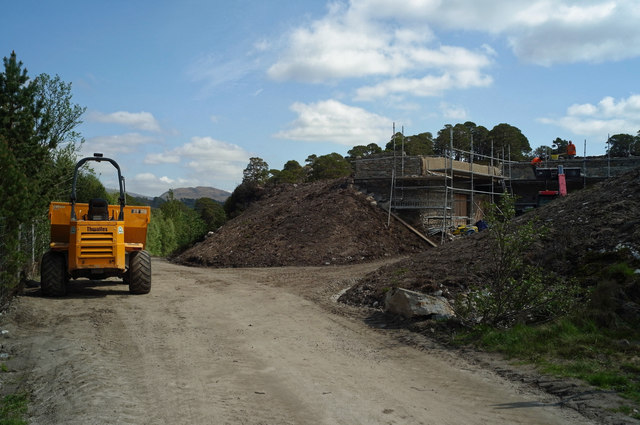 Construction of run-of-water generating facility in Glen Affric