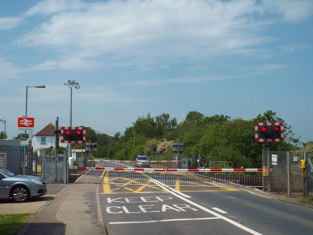 Pevensey Bay level crossing