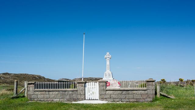 Kinlochbervie War Memorial