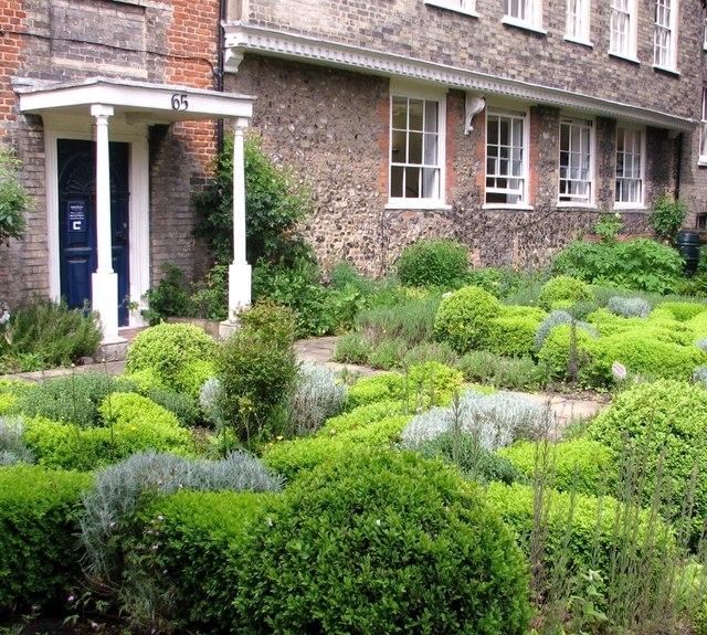 65 The Close - herb garden