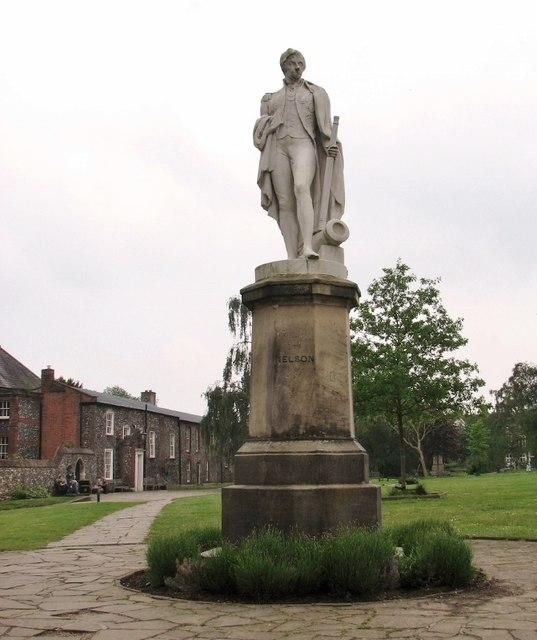 Statue of Horatio Nelson in the Upper Close
