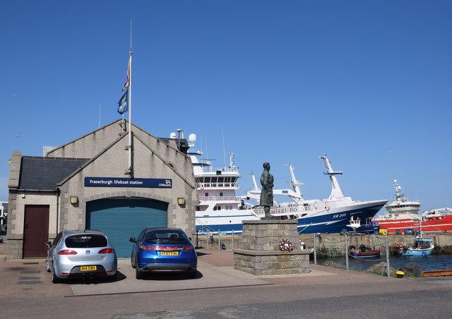 Fraserburgh lifeboat station and memorial