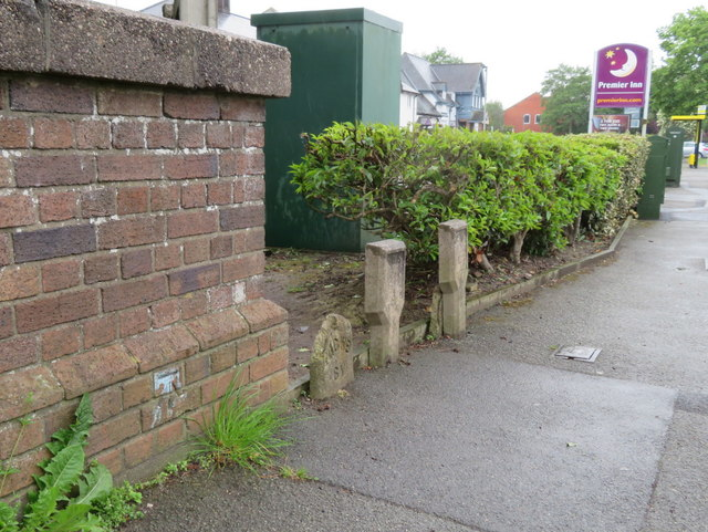 Upton Bridge parapet in Greasby Road, Wirral