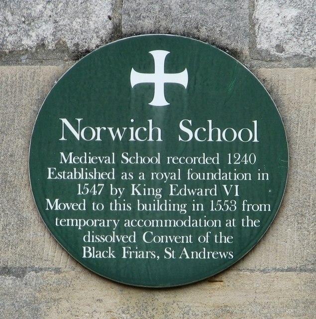 Norwich School (plaque)