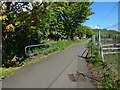 NS4274 : Cycle path crossing the Milton Burn by Lairich Rig