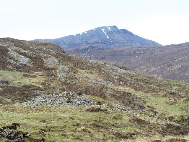 Chambered Cairn in Gleann Dubh