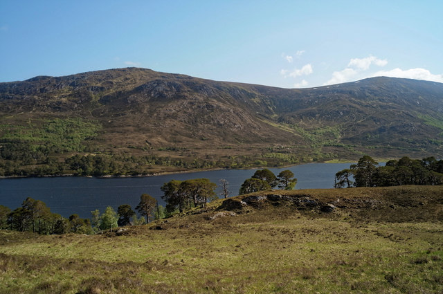 Loch Affric from the track along the north of the glen