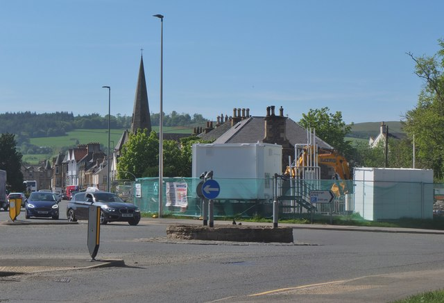 Redevelopment of filling station, Peebles (2)