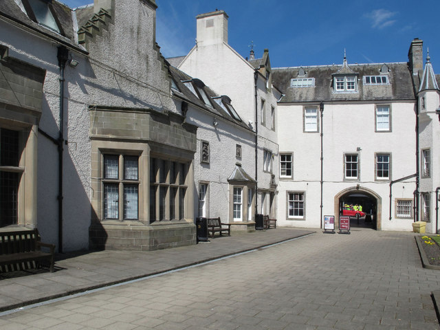 Chambers Institution Peebles, art gallery, museum, library