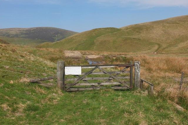 Gate at Foulbrig