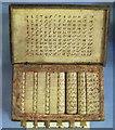 "NT3335 : ""Napier's bones"" calculator aid at Traquair House by David Hawgood"