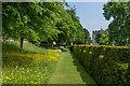SU8612 : Terrace, West Dean Gardens by Ian Capper
