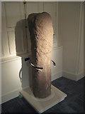 NZ0516 : Roman Milestone, Bowes Museum, Barnard Castle by Milestone Society